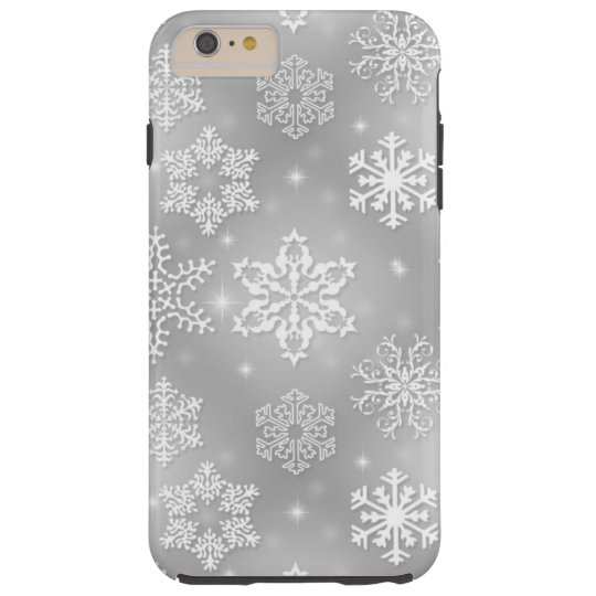 Snowflake iPhone 6 Plus Tough case