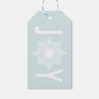 Snowflake JOY Tag