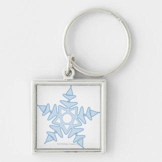 Snowflake Key Ring