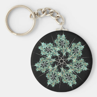 snowflake key ring
