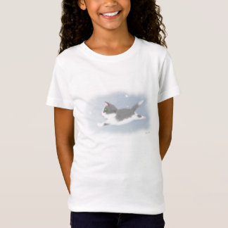 Snowflake Kitten T-Shirt