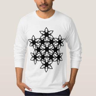 Snowflake Long Sleeve T-shirts