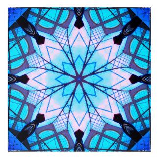 Snowflake Mandala Acrylic Wall Art