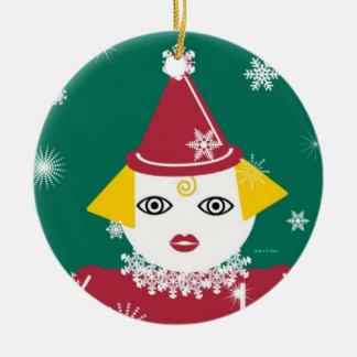 Snowflake Martzkin Mama Ornament