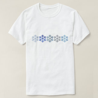 Snowflake Men's Basic T-Shirt