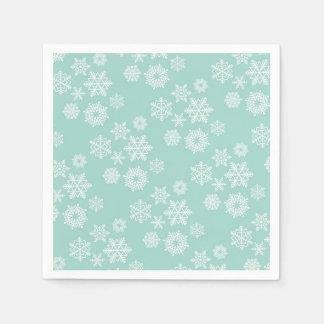 Snowflake napkin disposable serviette