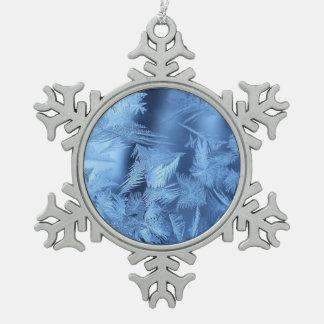 Snowflake necklace snowflake pewter christmas ornament
