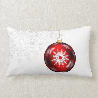 Snowflake Ornament Pillow