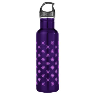 Snowflake pattern 710 ml water bottle