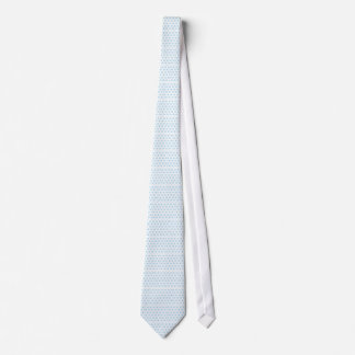 Snowflake Pattern Background Tie