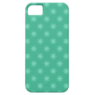 Snowflake pattern custom iPhone case