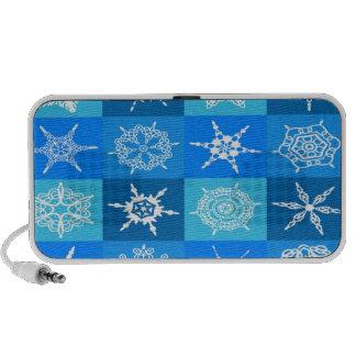 Snowflake Pattern Portable Speaker