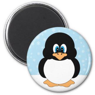 Snowflake Penguin Magnet