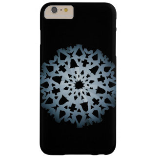 Snowflake phonecase (dark) barely there iPhone 6 plus case