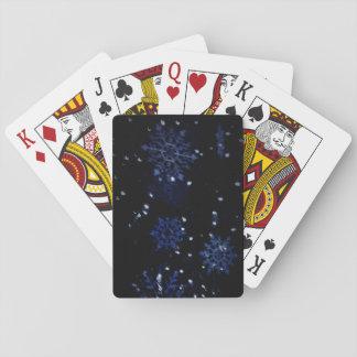Snowflake Playing Cards