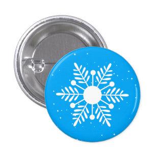 Snowflake Round Button