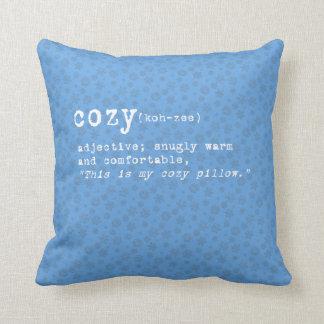 Snowflake Set - Cozy Throw Pillow