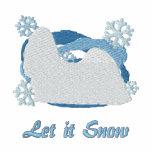 Snowflake Shih Tzu Embroidered Shirt (Sweatshirt)