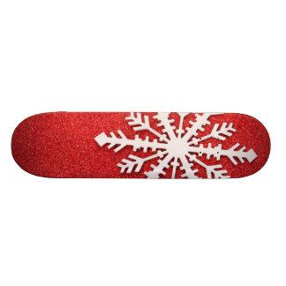 Snowflake Skateboard