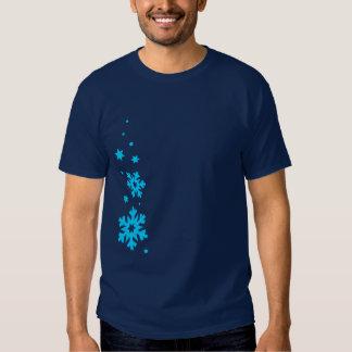 snowflake snowfall2 shirts