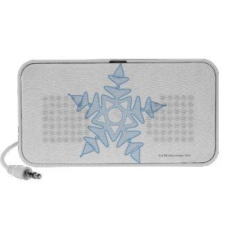Snowflake Portable Speakers
