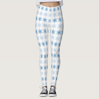 Snowflake Stripe Leggings