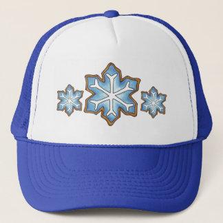 Snowflake Sugar Cookie Winter Hanukkah Christmas Trucker Hat