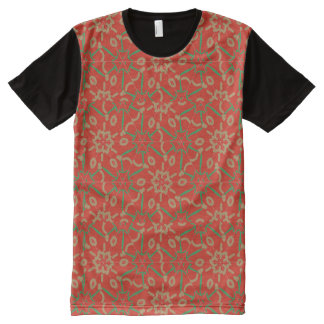 Snowflake T-shirt All-Over Print T-Shirt