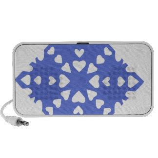 Snowflake Travelling Speakers