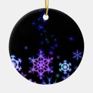 Snowflake tree decoration