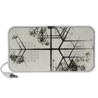 Snowflake Tree Travelling Speakers