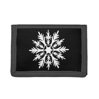 Snowflake Trifold Wallet