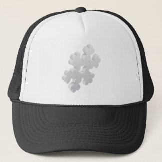 Snowflake Weather Icon Concept Cap