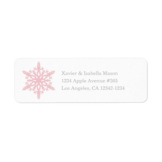 Snowflake   White/Pink