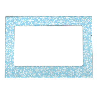 Snowflake Winter Christmas Magnetic Frame