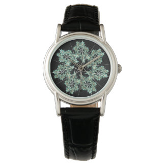 snowflake wrist watch