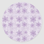 Snowflakes 1 - Purple
