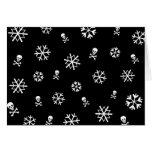 Snowflakes and Skulls Holliday