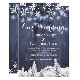 winter snowflake wedding invitations zazzle co uk
