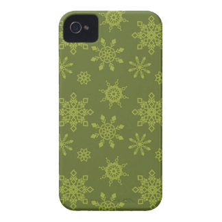 Snowflakes BlackBerry Bold Barely There™ Case Mate iPhone 4 Covers