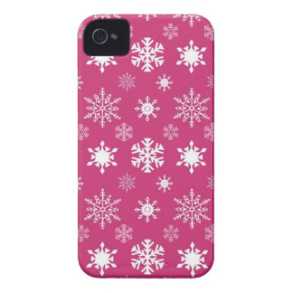 Snowflakes BlackBerry Bold Barely There™ Case Mate Case-Mate iPhone 4 Case