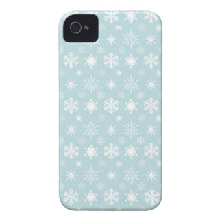 Snowflakes BlackBerry Bold Barely There™ Case Mate iPhone 4 Case-Mate Case