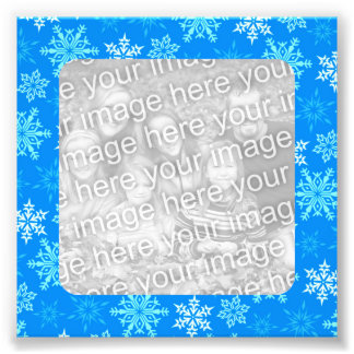 Snowflakes Border Photo