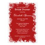 Snowflakes Bridal Shower Invitation