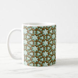 Snowflakes - Chocolate Mint Coffee Mugs