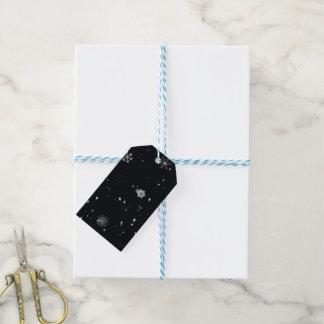Snowflakes Christmas Gift Tags
