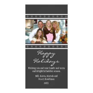 Snowflakes Christmas Photo Card