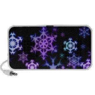 Snowflakes Doodle Speaker