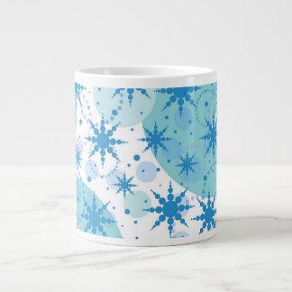 Snowflakes Extra Large Mugs