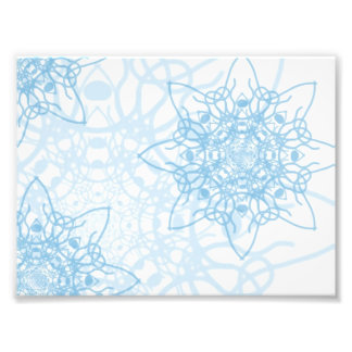 Snowflakes Fall Photographic Print
